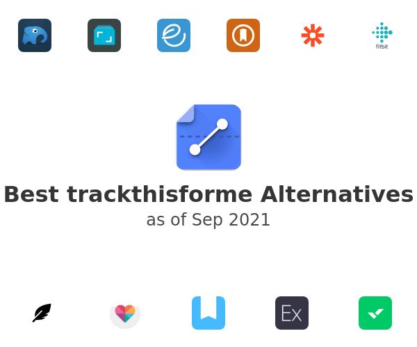 Best trackthisforme Alternatives