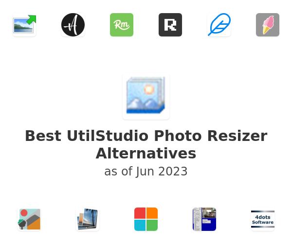 Best UtilStudio Photo Resizer Alternatives