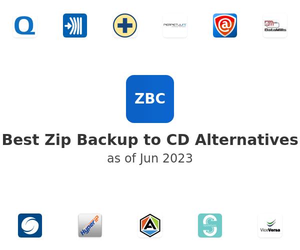 Best Zip Backup to CD Alternatives