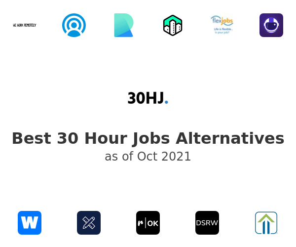 Best 30 Hour Jobs Alternatives