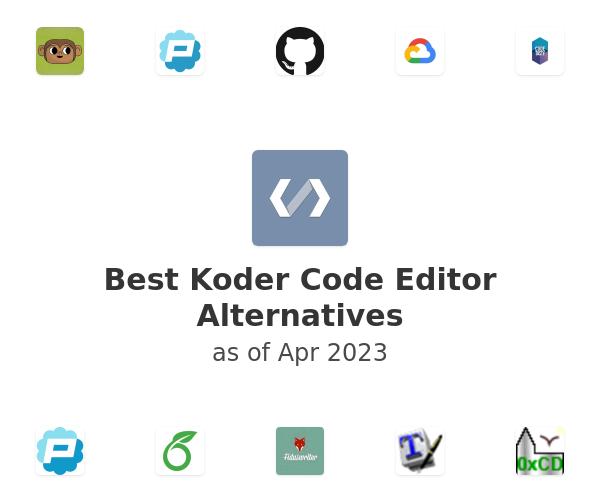 Best Koder Code Editor Alternatives