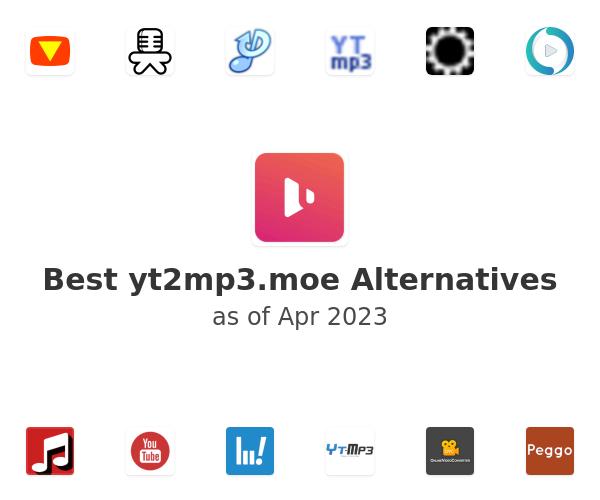 Best yt2mp3.moe Alternatives