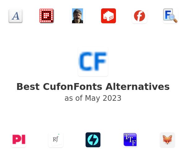 Best CufonFonts Alternatives