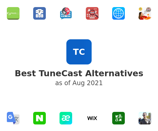 Best TuneCast Alternatives