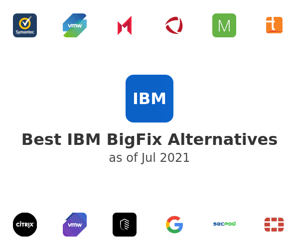 Best IBM BigFix Alternatives