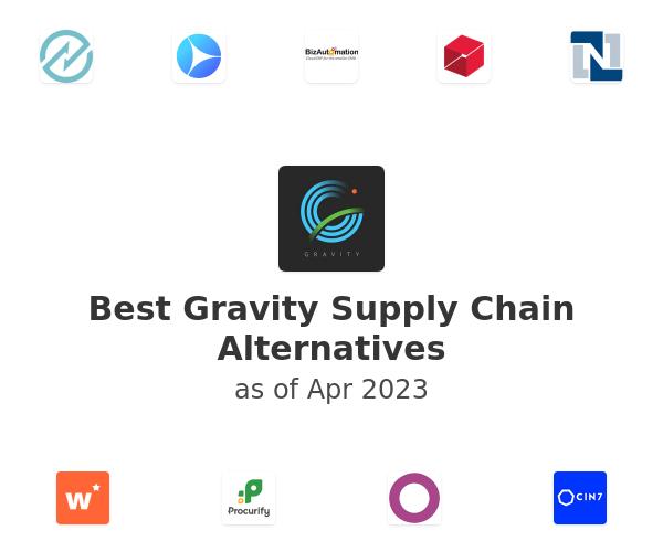 Best Gravity Supply Chain Alternatives