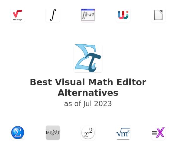 Best Visual Math Editor Alternatives
