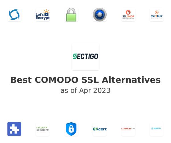 Best COMODO SSL Alternatives