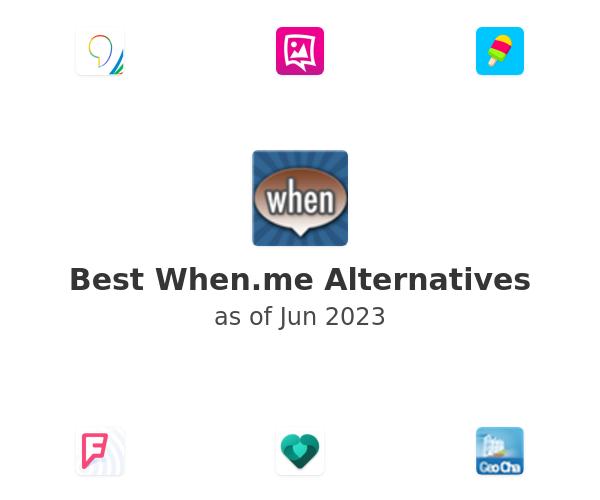 Best When.me Alternatives