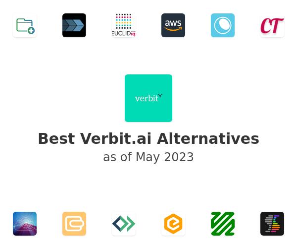 Best Verbit.ai Alternatives