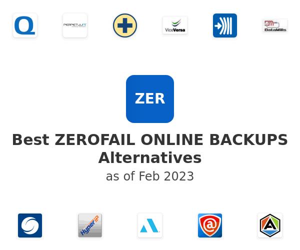 Best ZEROFAIL ONLINE BACKUPS Alternatives