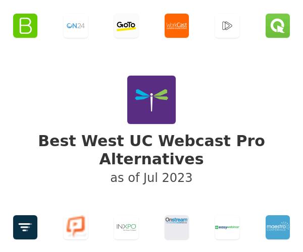 Best West UC Webcast Pro Alternatives