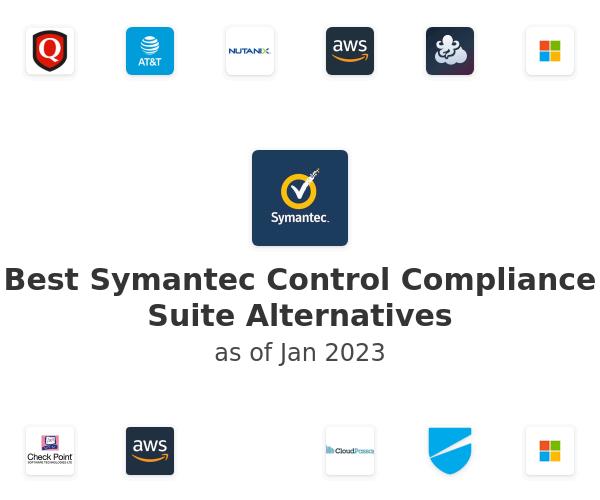 Best Symantec Control Compliance Suite Alternatives