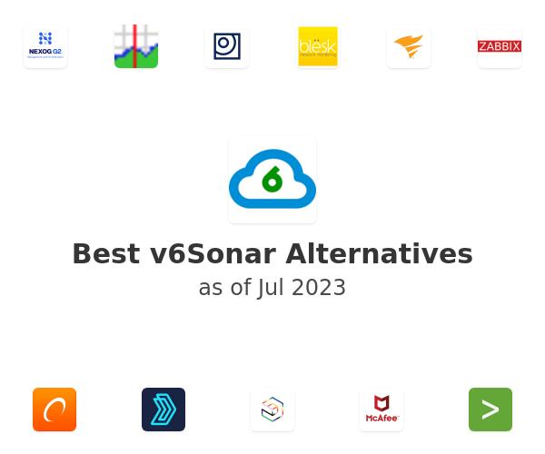 Best v6Sonar Alternatives