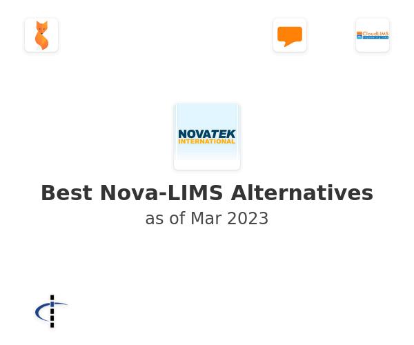 Best Nova-LIMS Alternatives