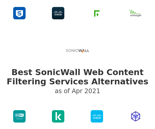 Best SonicWall Web Content Filtering Services Alternatives