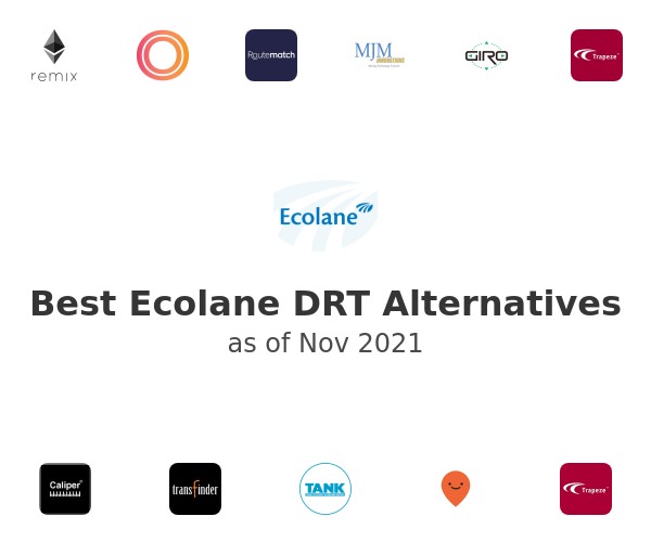 Best Ecolane DRT Alternatives