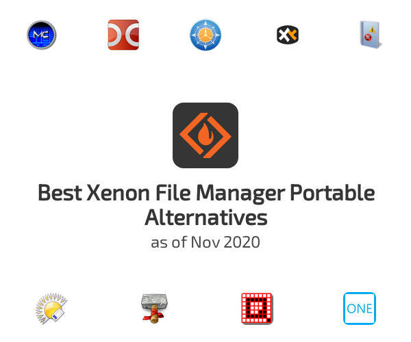 Best Xenon File Manager Portable Alternatives