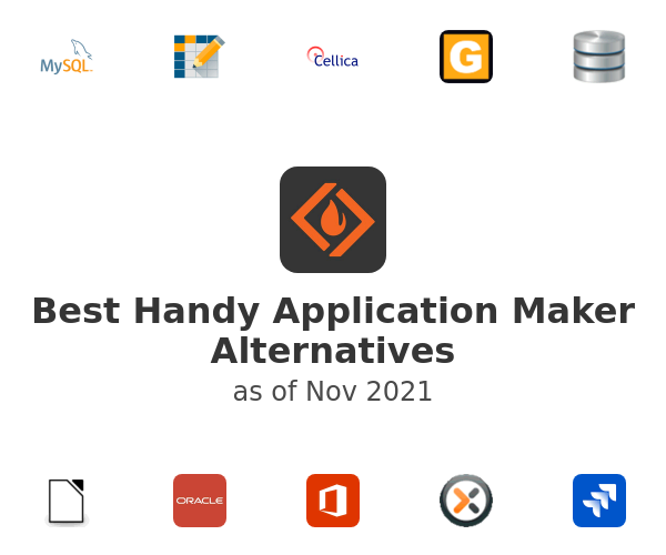 Best Handy Application Maker Alternatives
