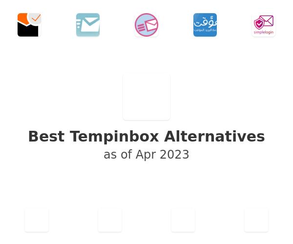 Best Tempinbox Alternatives