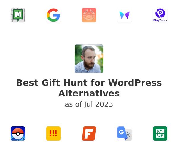 Best Gift Hunt for WordPress Alternatives