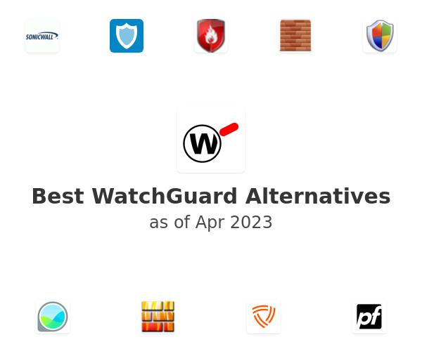 Best WatchGuard Alternatives