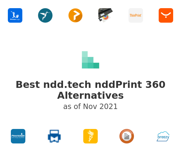 Best nddPrint 360 Alternatives