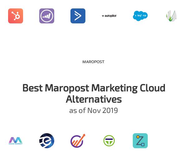 Best Maropost Marketing Cloud Alternatives