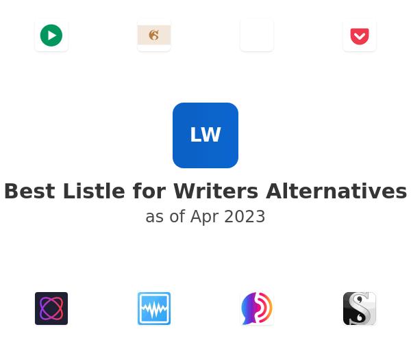 Best Listle for Writers Alternatives