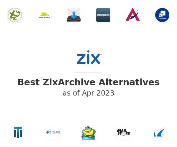 Best ZixArchive Alternatives