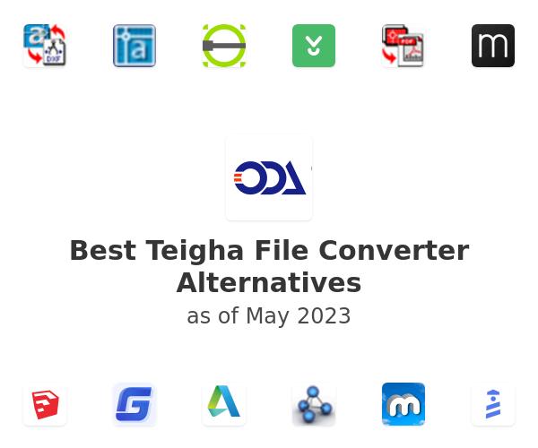 Best Teigha File Converter Alternatives