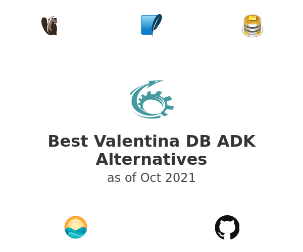 Best Valentina DB ADK Alternatives