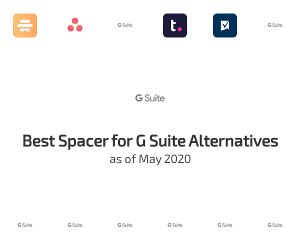 Best Spacer for G Suite Alternatives