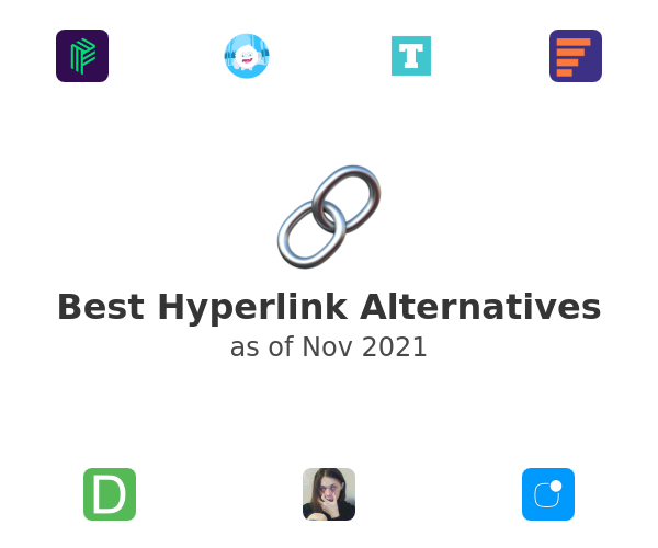 Best Hyperlink Alternatives