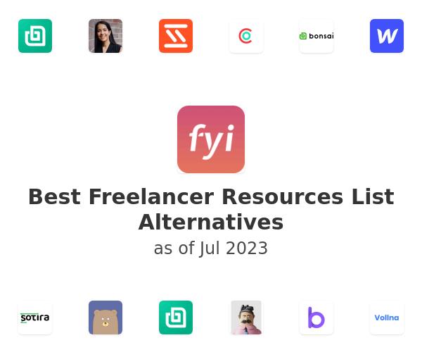 Best Freelancer Resources List Alternatives