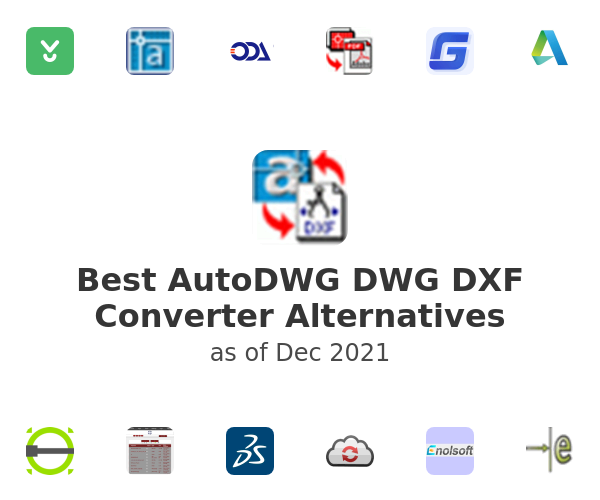 Best AutoDWG DWG DXF Converter Alternatives