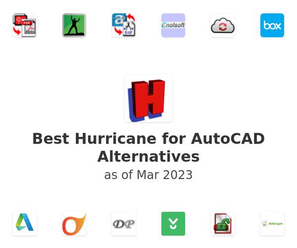 Best Hurricane for AutoCAD Alternatives