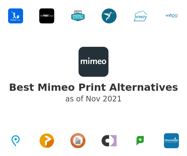 Best Mimeo Print Alternatives