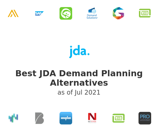 Best JDA Demand Planning Alternatives