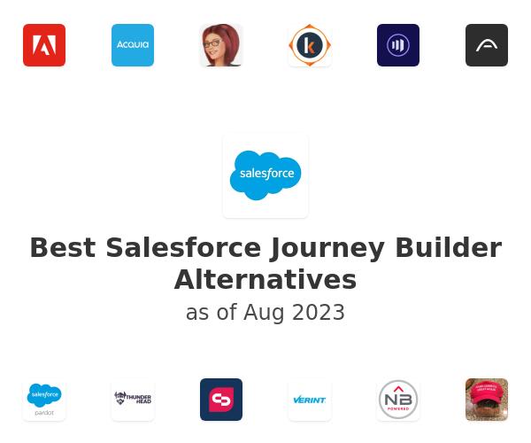 Best Salesforce Journey Builder Alternatives
