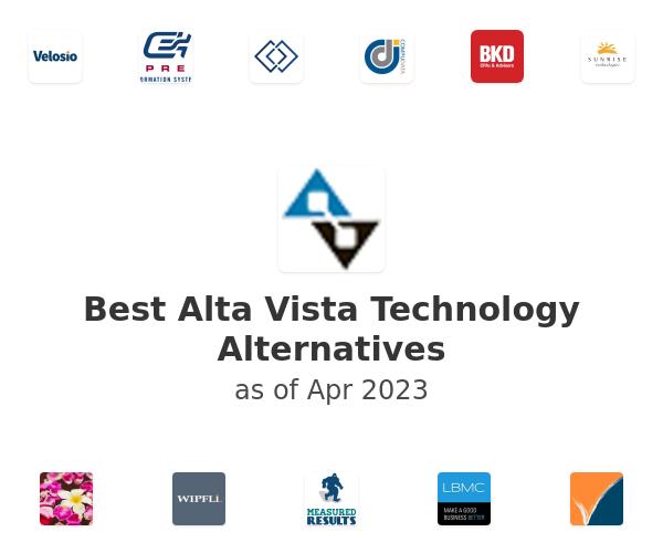 Best Alta Vista Technology Alternatives
