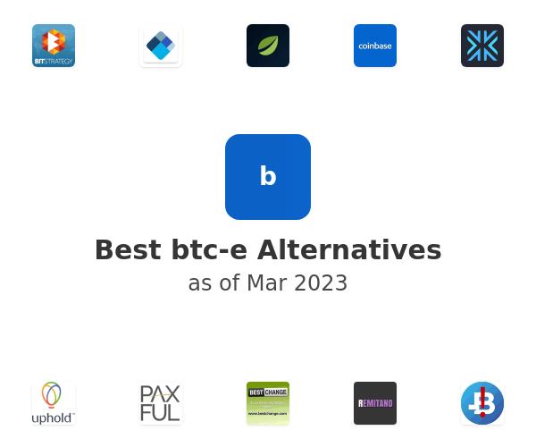 Best btc-e Alternatives