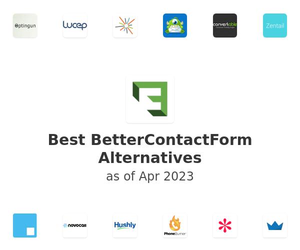 Best BetterContactForm Alternatives