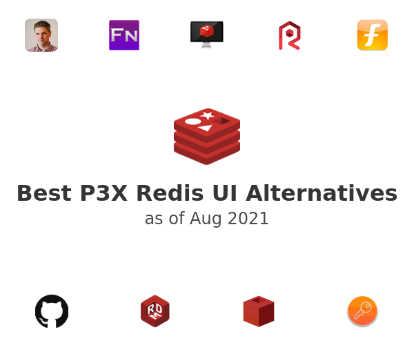 Best P3X Redis UI Alternatives
