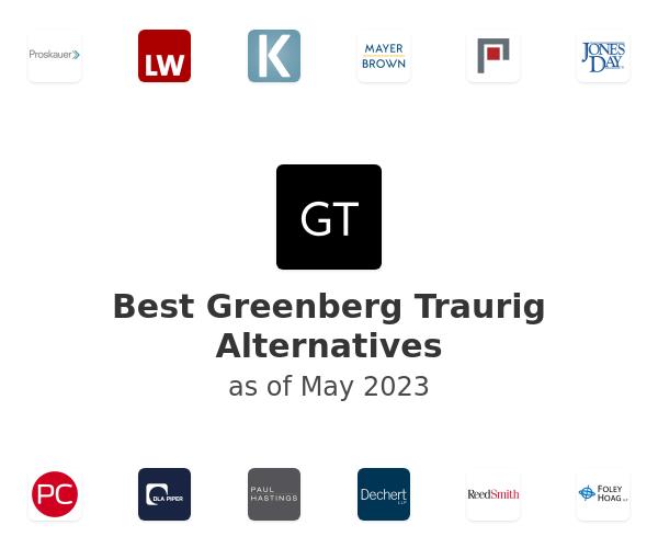 Best Greenberg Traurig Alternatives