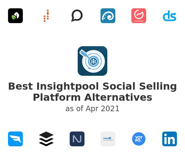 Best Insightpool Social Selling Platform Alternatives
