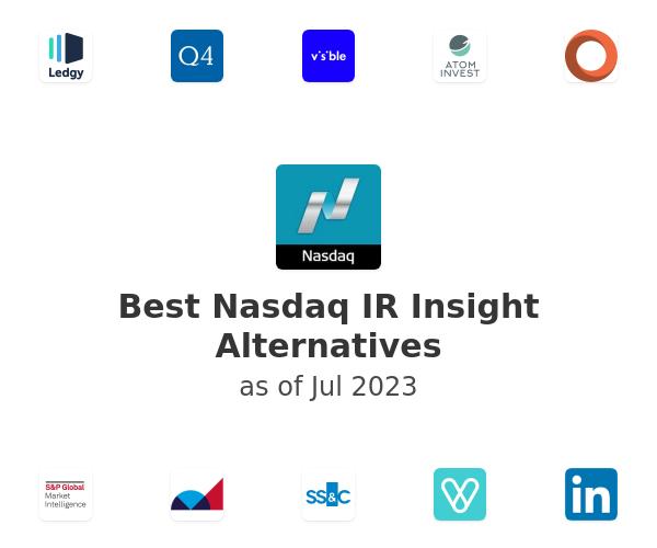 Best Nasdaq IR Insight Alternatives