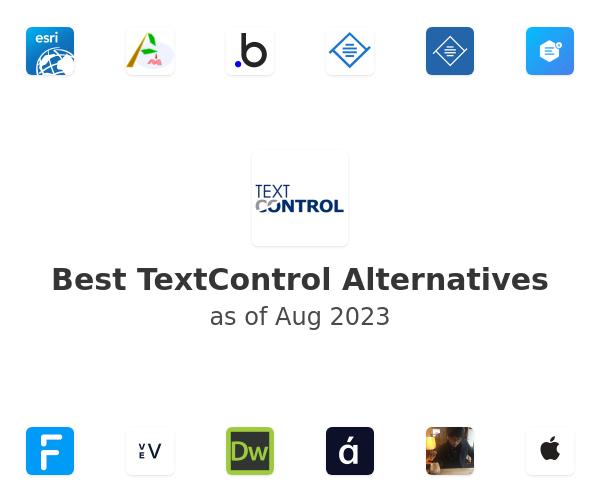 Best TextControl Alternatives