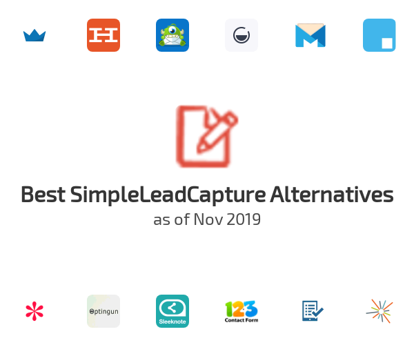 Best SimpleLeadCapture Alternatives
