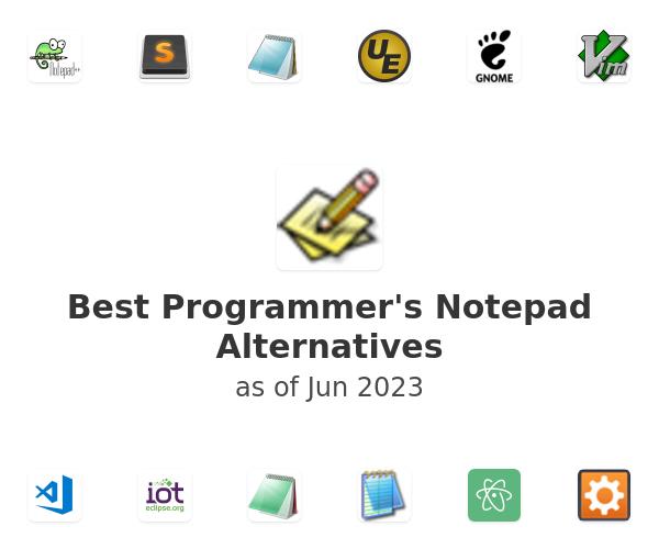 Best Programmer's Notepad Alternatives